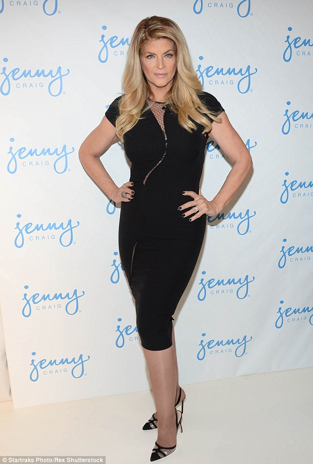 Just like Jessica Simpson: The two-time Emmy winner - who once topped the scales at 230 pounds - has lately been focusing on promoting Jenny Craig (pictured January 13)