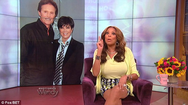 'Belinda, shame on you!' On Thursday, Wendy Williams literally shamed the former decathlete and called him a 'fame wh***' on her Fox/BET morning talk show