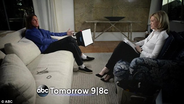 Telling all: Bruce's highly anticipated interview with Diane Sawyer is set to air in the US on Friday night