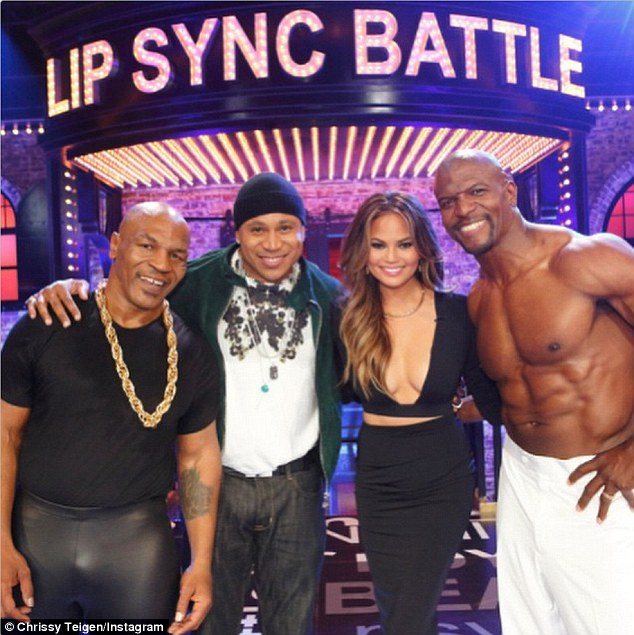She's a hit! The candid model currently stars on popular new show Lip Sync Battle on the Spike network, which airs new episodes Thursdays at 10pm