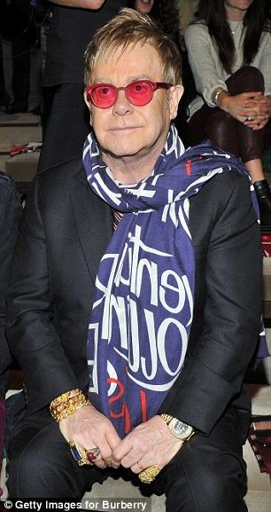 'It's an incredibly brave thing to do': Elton John has offered his support to Bruce Jenner amid reports he's taking steps towards gender reassignment