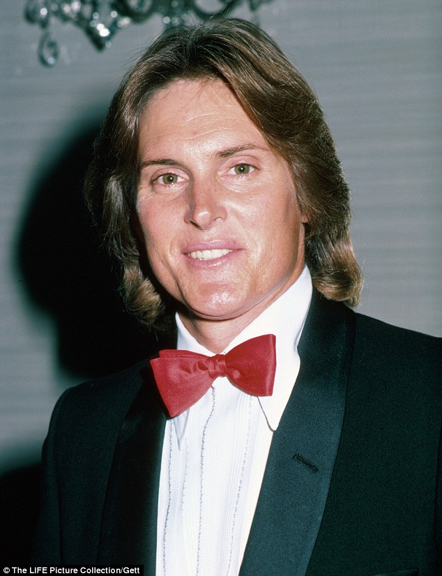 Early signs? New claims surfaced Friday that Bruce Jenner started having hormone therapy and plastic surgery in the mid to late 1980s to make himself look more feminine. He's shown here in September 1987