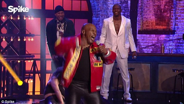 New role: Mike Tyson offered a surprising performance of Salt N Pepa's Push It in a preview for Thursday's episode of Lip Sync Battle