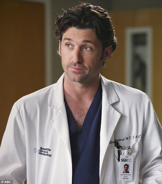 End of an era: Patrick has portrayed McDreamy for 11 seasons of the medical drama