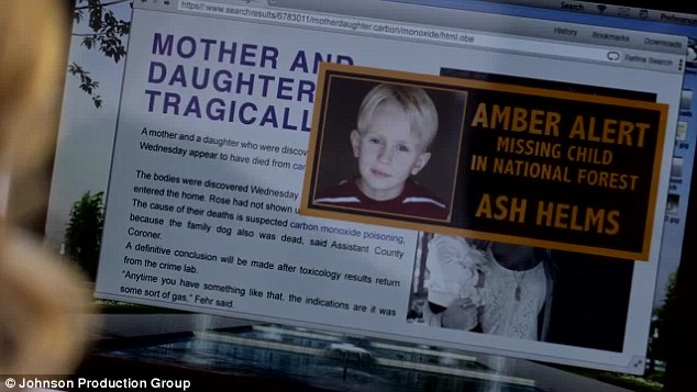 GONE! Lily's son, named Ash, then goes missing and she believes the mentally-challenged teacher is the reason for his disappearance as police frantically search the national forest for the youngster