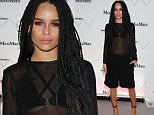 NEW YORK, NY - APRIL 24:  Zoe Kravitz, wearing Max Mara, attends the Max Mara, presenting sponsor's, celebration of the opening of The Whitney Museum Of American Art at it's new location on April 24, 2015 in New York City.  (Photo by Neilson Barnard/Getty Images for Max Mara)
