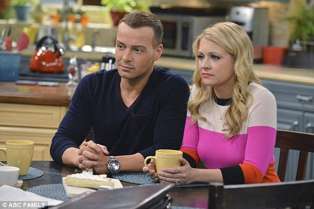 On to the next:The 5ft2in blonde will conclude her role as Ohio politician Mel Burke in the fourth and final season of Melissa & Joey, which resumes in August