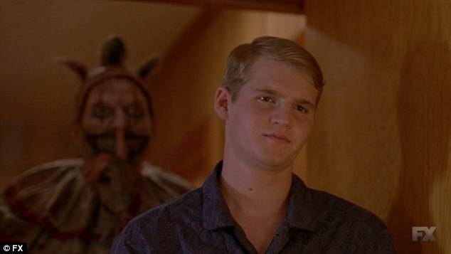 Freak Show: Dalton had a role in the fourth season of the FX horror anthology that ended in January