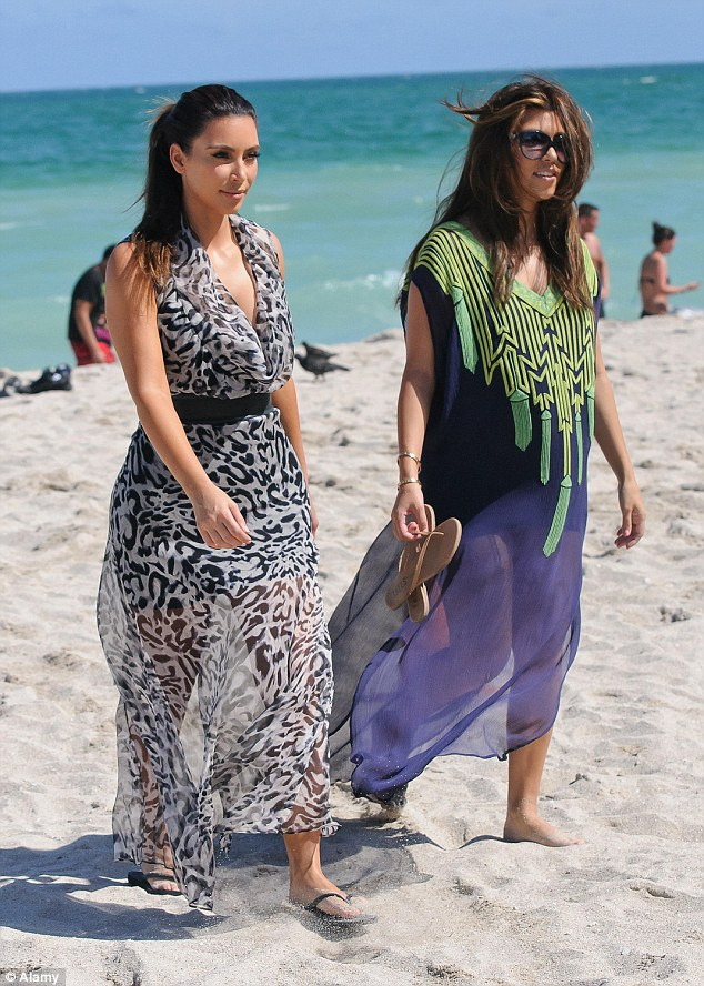 Kim  has long had her pick of holiday destinations - so how have her holiday tastes changed over the years?