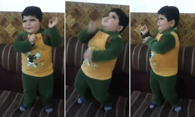 Young boy becomes an online sensation after starring in dance videos
