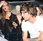 23 Apr 2015 - LONDON - UK  LOUIS TOMLINSON OF ONE DIRECTION SEEN PARTYING AT CIRQUE NIGHTCLUB IN LONDON TILL 4AM WITH MYSTERY FEMALE COMPANIONS. LOUIS WAS SEEN LEAVING WORSE FOR WEAR AS HE WAS SEEN SLUMPT IN THE BACK OF HIS CAR LEAVING WITH 3 MYSTERY FEMALES.  BYLINE MUST READ : XPOSUREPHOTOS.COM  ***UK CLIENTS - PICTURES CONTAINING CHILDREN PLEASE PIXELATE FACE PRIOR TO PUBLICATION ***  **UK CLIENTS MUST CALL PRIOR TO TV OR ONLINE USAGE PLEASE TELEPHONE   44 208 344 2007 **