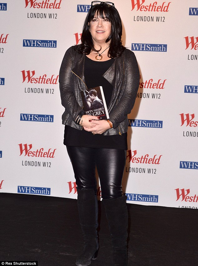 Popular books: James, shown in February in London, wrote the Fifty Shades trilogy series that has sold more than 100 million books worldwide