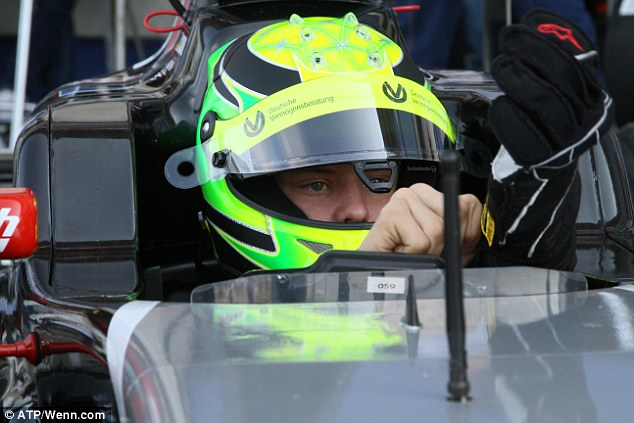Schumacher Junior is making his debut in single-seater racing after a successful karting career