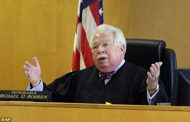 Decision: Circuit Judge Michael Bohren ruled Friday that Geyser is a flight risk and should remain in jail