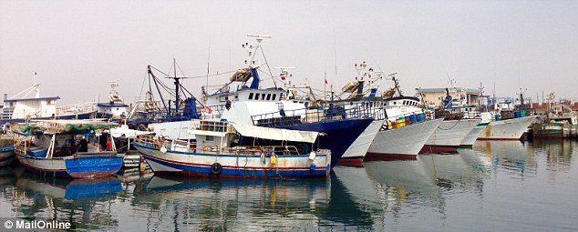 Sfax is the fishing port where accused 'captain' Malek earned just £3.40 a day as a lowly deckhand