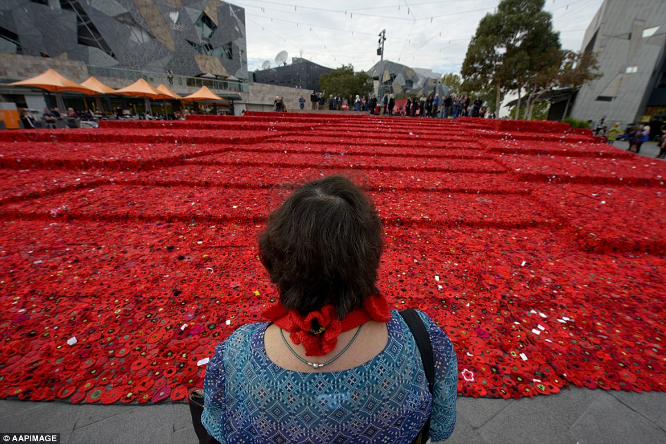 Strong alliance: More than 10,000 New Zealand and Australian servicemen died in the failed eight-month campaign, with Gallipoli becoming a defining symbol of courage and comradeship for the two nations