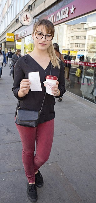 Deni fails to get a free coffee at Notting Hill Gate