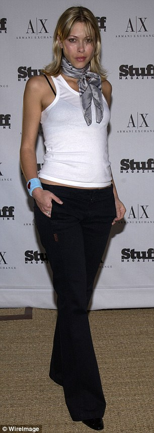 New kind of pressure: Former model Jennifer Sky (pictured) has reported that models are being asked to wear Spanx underwear stuffed with sandbags, so they can clock in at a 'healthy' weight