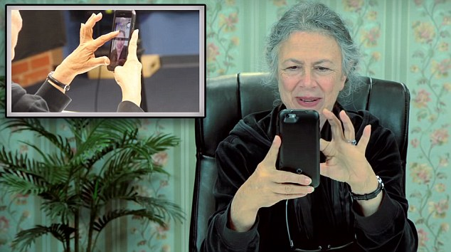 Perfect users: Rhoda notes that politicians should get on the app because of all of their 'sexting' and 'nude pictures'