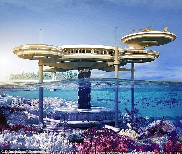 Today, underwater hotel rooms are considered rare luxuries, they're expected to become more mainstream