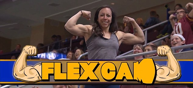 That's what you call muscle: This woman flexes her gigantic muscles for all to see