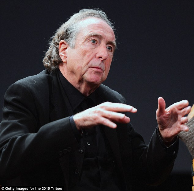 Quirky: Eric Idle recalled the 1975 opening of Monty Python And The Holy Grail in New York where they offered free coconuts (which comically figure into the film) to the first 2,000 ticketholders