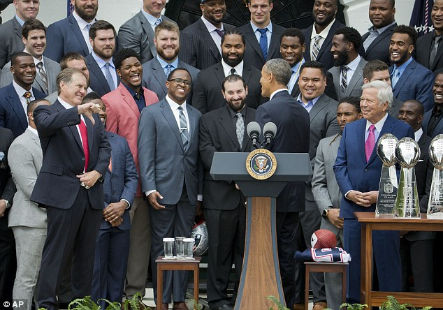 Obama also quipped that he wished Chicago could learn something from Boston's championship-winning ways