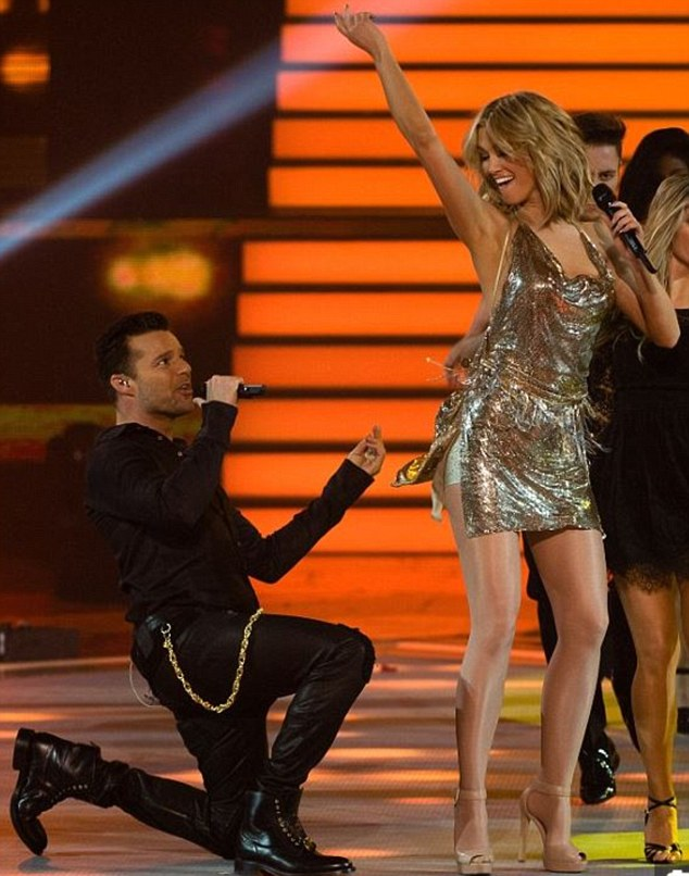 Besties! Delta and Ricky performing on The Voice in 2014