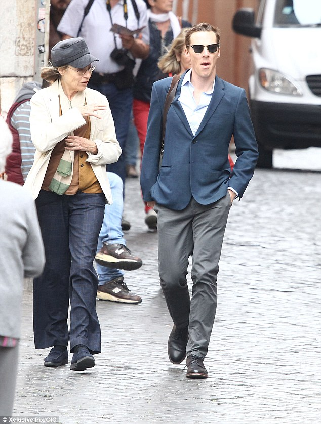 City break:Director and star Ben Stiller has signed up some incredible cameos for Zoolander 2, with Benedict just the latest actor spotted on set