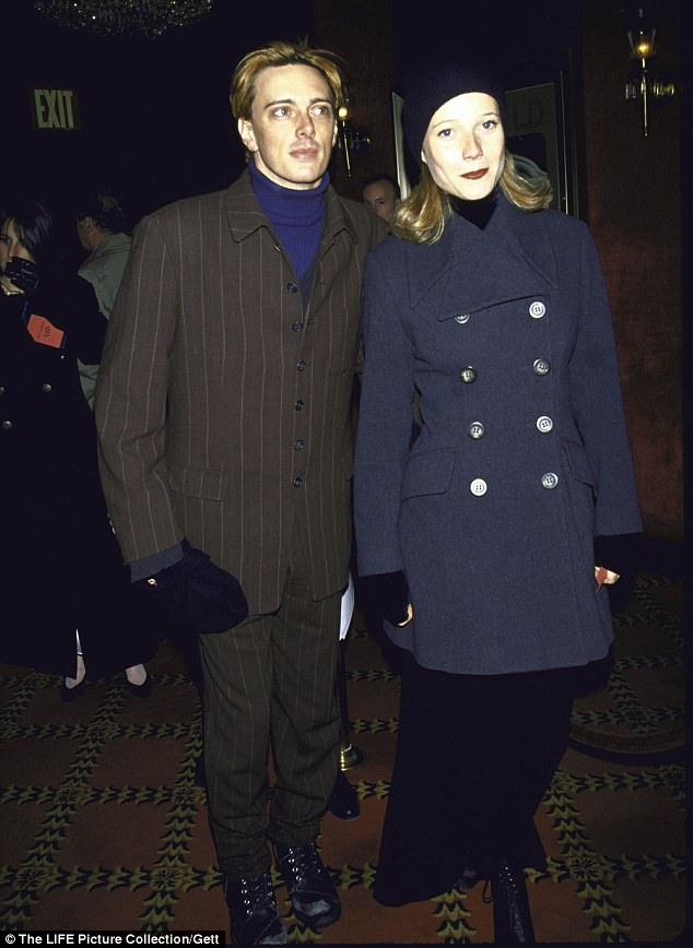 Back in the day: Donovan photographed with ex-girlfriend Gwyneth Paltrow in January 1994