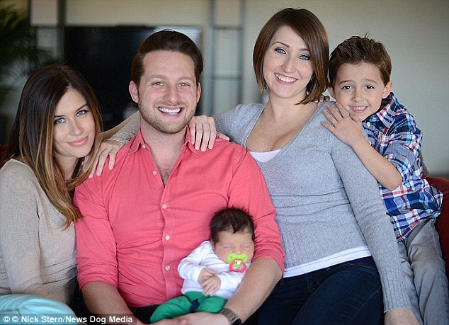The unconventional family are raising two children - Brooke and Adam's newborn, Dante, and Brooke's son Oliver from a previous relationship. Jane is keen to have a baby with Adam in the future too