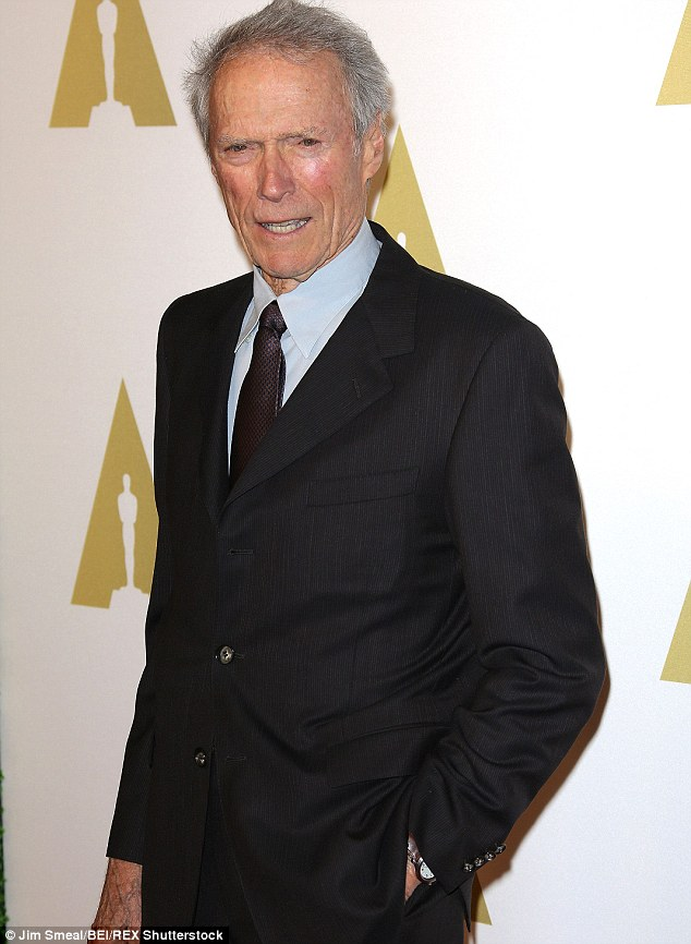 He's doing just fine: Clint Eastwood has shared his tricks for handling life as a senior citizen with Closer Weekly. 'Aging can be fun if you lay back and enjoy it,' the 84-year-old Oscar winner said
