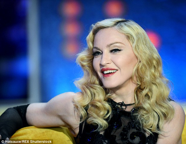 Never was a Cornflake Girl: Material Girl Madonna will no doubt be pleased to hear of the support from Tori
