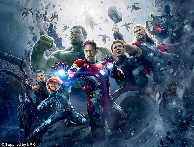 The comic stars of Avengers: Age of Ultron, who this time face a considerable challenge from a rogue robot
