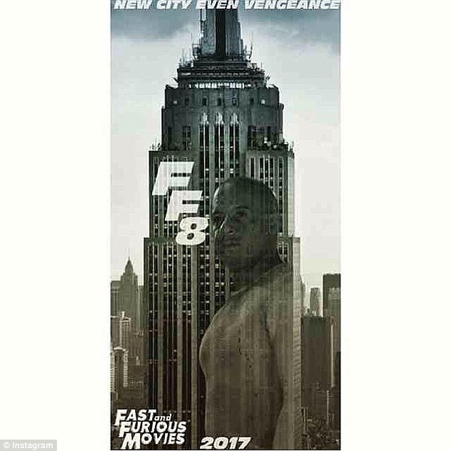 It's official: Universal Pictures released the first poster from Fast And Furious 8 on Thursday on their Instagram account
