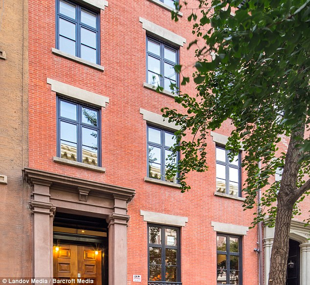 Bargain: Sarah Jessica Parker and Matthew Broderick have finally sold their Greenwich Village home after having it on the market for around three years - the last known selling prize was a discounted $19.95m