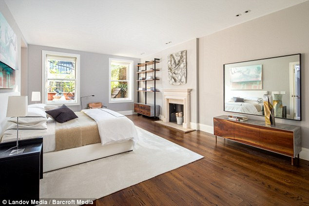 Luxury living: Built in 1846, the historic townhouse is 6800-square-feet and 25 foot in width