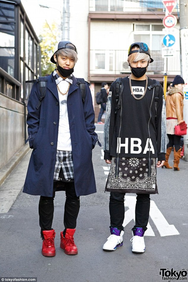 Safety first: What was once used for health and safety has started becoming a fashion statement in Japan