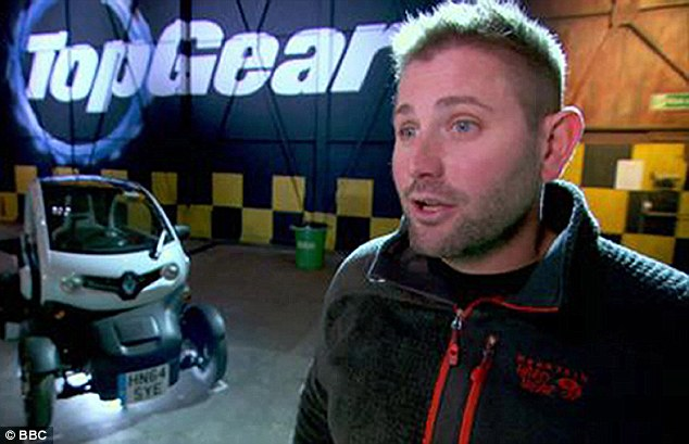 Victim: Clarkson was suspended last month when he became the subject of an internal BBC investigation after he attacked Top Gear producer Oisin Tymon (pictured), 36, splitting his lip and verbally abusing him