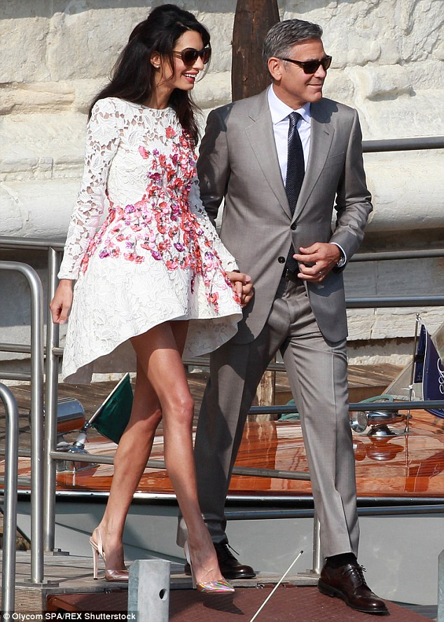 Safety first:According to UsWeekly, the 53-year-old actor thinks that electronic communication is just not private enough; the couple is spotted in Italy in September during their wedding week