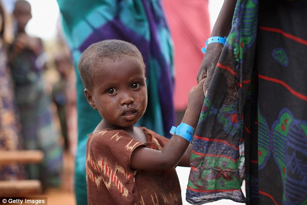 The shot , which is designed to be used by children in Africa, could be approved by October, making it the first approved vaccine for the world's most deadly disease
