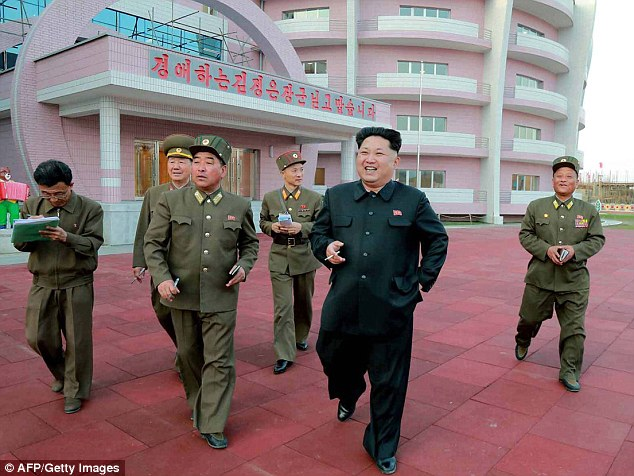 Kim Jong Un inspecting the newly built Wonsan Baby Home and Orphanage in a photo released earlier this month. North Korea has conducted three nuclear detonations, the most recent in February 2013