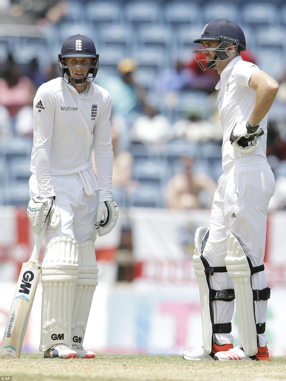 Before his error, Anderson had played his part as a No 11 with intelligence, supporting Root sensibly and keeping off strike