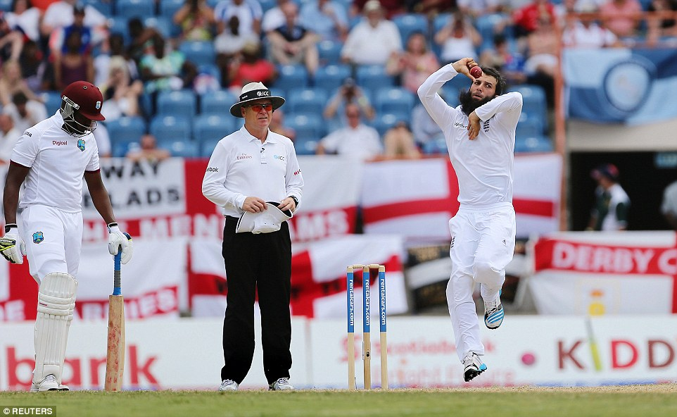 Moeen Ali looked rusty on his return from injury, and Root's bowling was often preferred to the nominally first-choice spinner