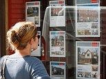 Brighter horizons: Figures set to be released on Monday, are expected to show that asking prices have dropped again after a 0.8 per cent dip last month