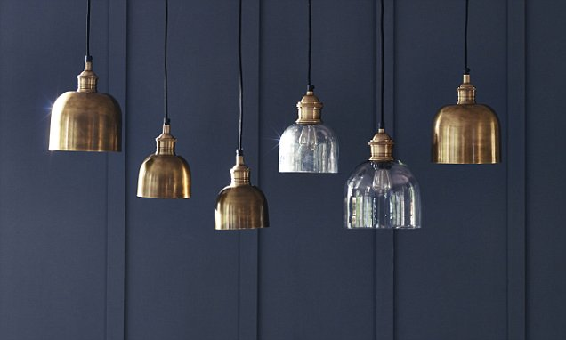 Move over grey - navy blue is the rich new shade we all want on our walls