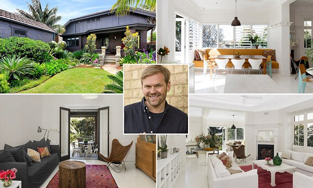Bill Granger hoping to cook up $3.3m for his four bedroom Sydney home
