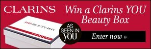 Win a Clarins YOU Beauty Box