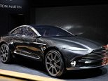 Aston Martin DBX Concept  Hand out image