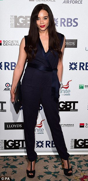 Jumpsuits: All-in-ones was the style of choice for Hannah John-Kamen and  Michelle Hardwick